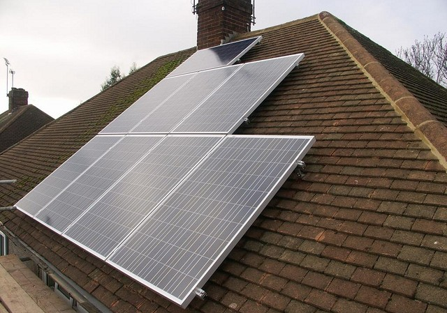 solar home roof