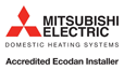 Mitsubishi Accredited Heat Pump Installer