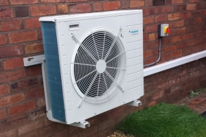 Heat Pump Outside
