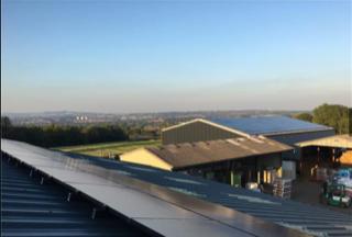Evergreen MAC rooftop solar panels