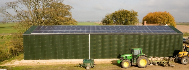 Farm Barn Solar Panels