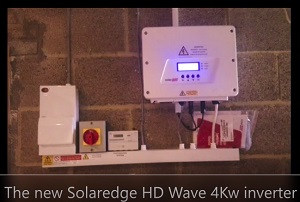 The New Solaredge HD Wave 4Kw Inverter