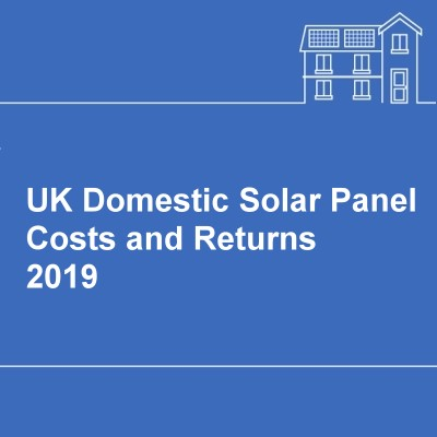 UK Domestic Solar Panel Costs and Returns: 2010 – 2017