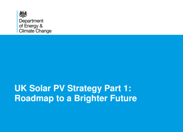 UK Solar PV Roadmap