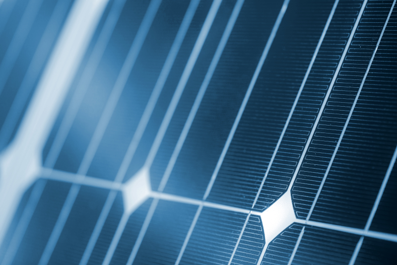 Solar Module Close Up